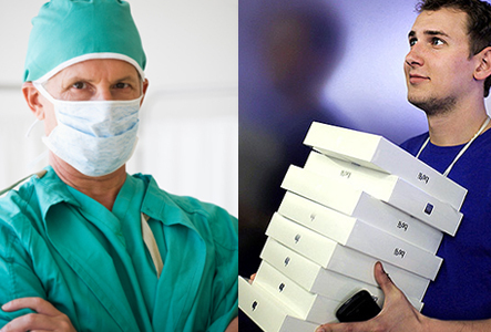 neurologist or ipad