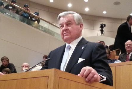 Jerry Richardson appears at Public City Council Meeting       © Julie Rose