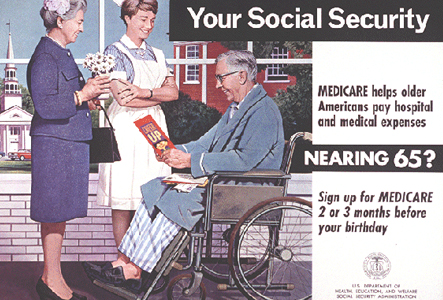 1950's, 60's & 70's players are already on Medicare.