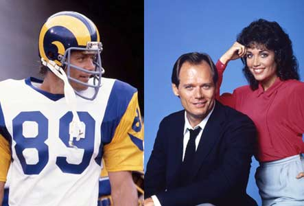 Fred Dryer still gets TV money from Hunter, but not from the NFL (AP)