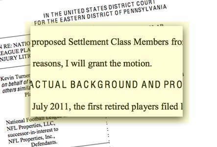 Judge Anita Brody's Memorandum Granting Preliminary Approval