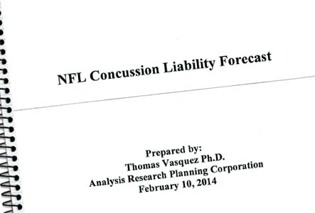 Concussion Settlement Actuarial Data Report